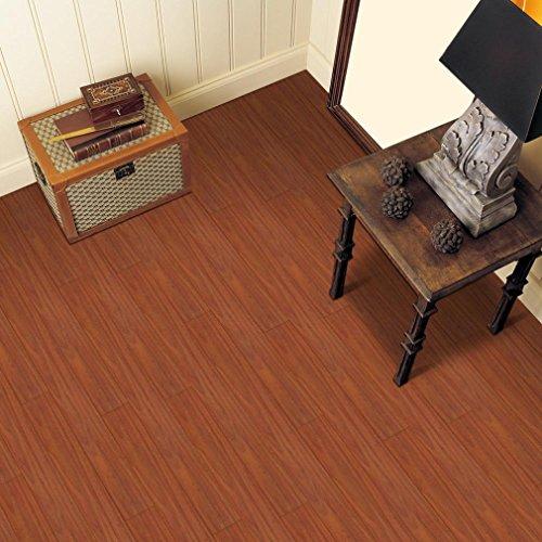 Preisvergleich Produktbild wanshop® Selbstklebende Fliesen Art Boden Wand Aufkleber Aufkleber Abnehmbare DIY Küche Badezimmer Wohnzimmer Decor Vinyl L