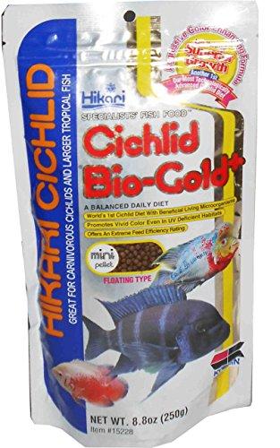 Hikari Cichlid Bio-Gold Plus Mini Pellet Fish Food, 250 g
