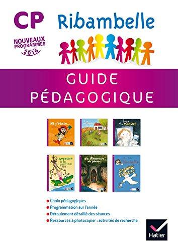 Ribambelle CP série Violette éd. 2016 - Guide pédagogique par Jean-Pierre Demeulemeester