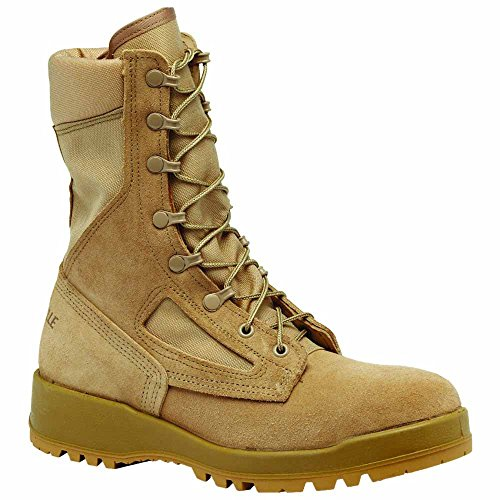 Belleville Hot Weather Desert Flight & Combat Vehicle (Tanker) Boot, Men, Shoes Tan