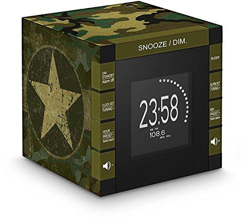 Bigben Interactive Radio Réveil avec Projecteur - Radios Portables (Horloge, Numérique, FM,PLL,...