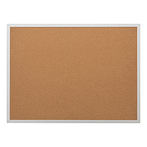 'School Outfitters de Nor ata1015So Norwood Commercial Furniture Cork Bulletin Board With Oak Frame, 2