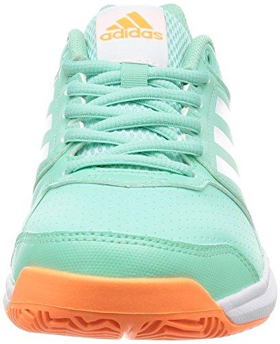 Adidas Adizero Attacco W Verde Chiaro - Bianco
