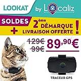 """LOCALIZ Lookat Traceur GPS pour Chat et Petit Chien. Le Traceur GPS de l'émission sur TF1 """"La Vie Secrète des Chats Saison 2"""""""