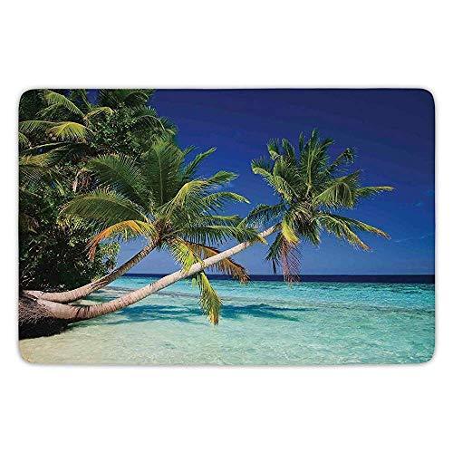 Möbel Turtle Bay (tgyew Bathroom Bath Rug Kitchen Floor Mat Carpet,Ocean Decor,Maldives Bay Summer Pacific Holiday Destinations Decorative,Flannel Microfiber Non-Slip Soft Absorbent)