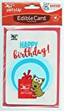 Pets-Up Birthday Card Dog Birthday Card Rawhide Edible Birthday Card (Happy Birthday)