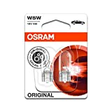 2x Genuine Osram Original W5W (501) 5w 12v Clear Bulbs...