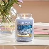 Raindrops - Yankee Candle® - 1577125E - 623g - Housewarmer, Duftkerze, Duftkerze im Glas, Apothekerglas, Raumduft