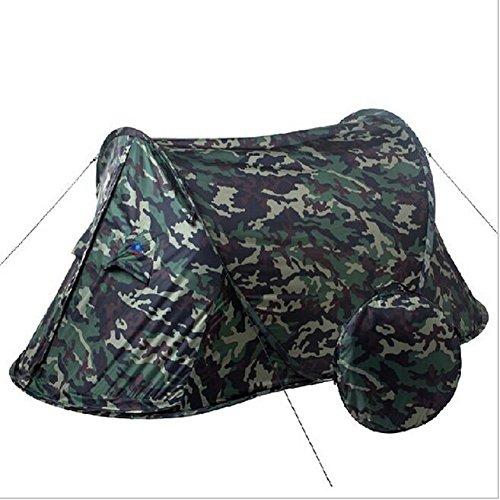 Tenda da campeggio impermeabile leggero Esterno portatile tenda automatica Fishing pop up tenda Ultralight 2persona, camo