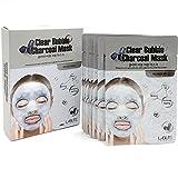 koreatrends LaBute Clear Bubble Holzkohle Gesichtsmaske Blätter 10Ea