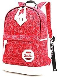 école-Japonais Style Sac à dos de ordinateur 10-15.6 pouces /Sac à dos de randonnée voyage loisir / Sac à dos scolaire