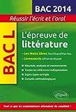 L'épreuve de littérature bac L : Les Mains libres , Paul Eluard/ Man Ray ; Lorenzaccio, Alfred de Musset