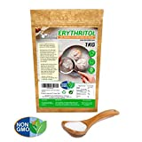 Dulcilight Eritritol de 1kg sustituto del azúcar 100% natural y cero calorías