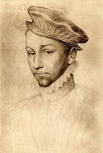 The Poster Corp Ken Welsh/Design Pics - Charles Ix 1550-1574 King of France. from An Engraving After A Drawing by An Unknown Audience. Photo Print (30,48 x 45,72 cm) -