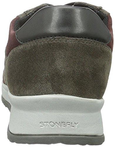 Stonefly Stone 2, Baskets Basses Homme Gris (Asphalt/Winet 33)