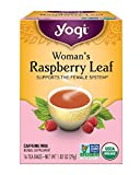 Yogi Teas: Woman's Raspberry Leaf Tea, 16 ct (3 pack)