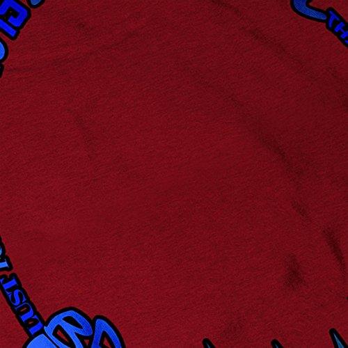 Kopfhörer Schlagen Ohr Musik Kopfhörer Damen S-2XL Muskelshirt | Wellcoda Rot
