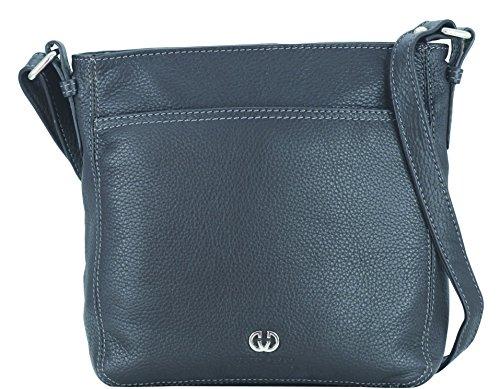 Gerry Weber Shoulder Bag M 08/90/02242-860, Borsa donna, 22x23x7 cm (L x A x P) Marrone/Marrone scuro