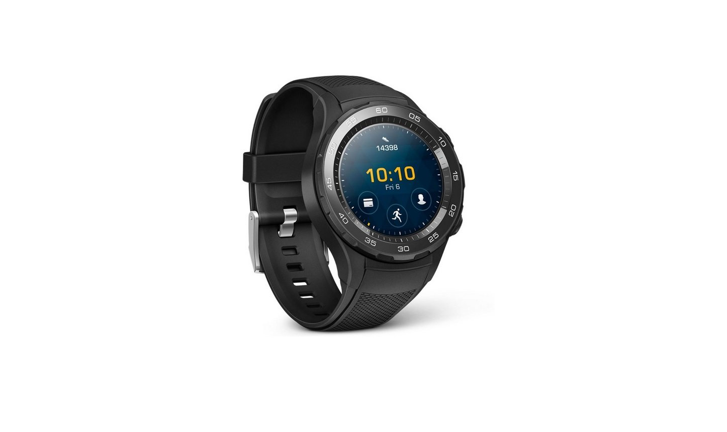 Huawei Watch 2 Smartwatch With Sport Strap Carbon Black