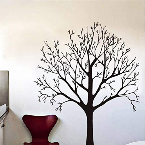 DongOJO Pflanze Baum entfernbare wandaufkleber Kunst Vinyl wandaufkleber DIY Selbstklebende tapete abziehbilder schlafsofa Wohnzimmer wandbild Dekoration 57x68 cm -