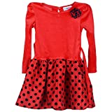 Perky Girls Velvet Frock (PER010_6_Red_9...