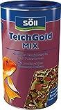 Söll  18808 Teich-Gold Mix - Alleinfuttermittel für alle Teichfische - Fischfutter - Gartenteich, 1er Pack (1 x 110 g)