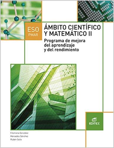 PMAR II Ámbito Científico y Matemático (Secundaria) - 9788490786055 por Filomena González López de Guereñu