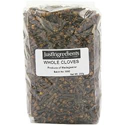 JustIngredients Essential Gewürznelken, Cloves, 1er Pack (1 x 250 g)