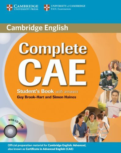 Complete CAE Student's Book with Answers with CD-ROM by Guy Brook-Hart (2009-04-27)