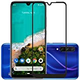 Lustree Xiaomi Mi A3 5D Tempered, Lustree Full Edge To Edge Coverage Tempered Glass For Mi A3 - Black