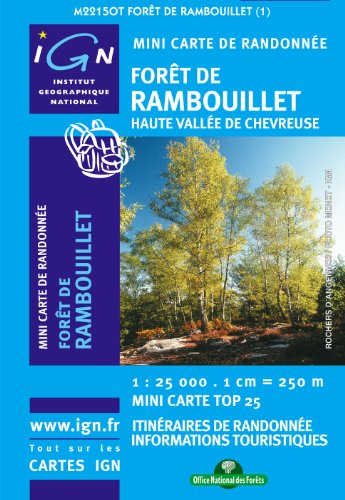 Foret De Rambouillet Mini Map: IGNMINI.2215OT (Ign Map) par Collectif