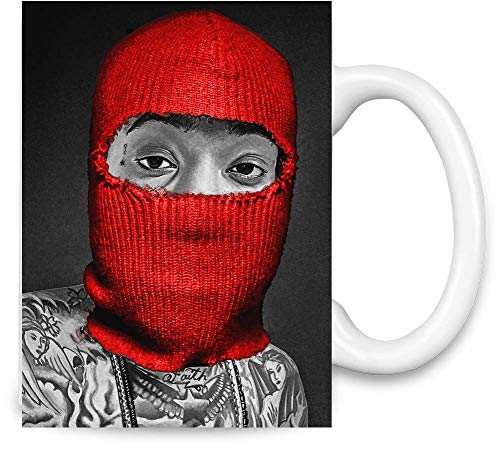 Wiz Khalifa Rote Maske Weed Dope Swag Thug Red Mask Weed Dope Swag Thug Unique Coffee Mug | 11Oz Ceramic Cup| The Best Way to Surprise Everyone On Your Special Day| Custom