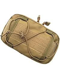 Tradico® 1000D Waterproof Molle Multi-Purpose Utility Pouch Bag - Tan