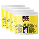 4x LIQUI MOLY 3334 Unsichtbarer Handschutz Wasch Paste Hände Schutz Flüssig 65