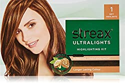 Streax Ultra Light Soft Style 1 Hair Color, 20ml with Blonder Powder, 10g and Conditioner Sachets, 5ml (Pack of 4)