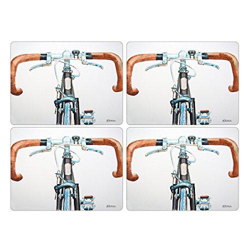 Pimpernel Sets de table de vélo - Lot de 4 (Large)