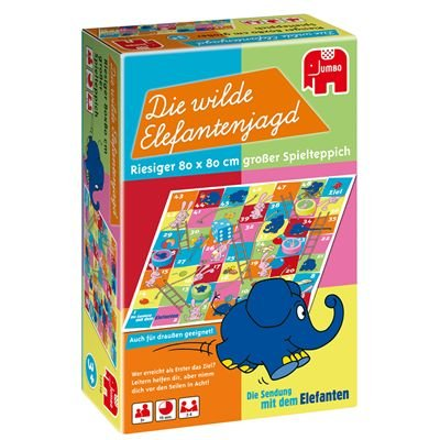 12718 - Jumbo Spiele - Die wilde Elefantenjagd, Der Elefant