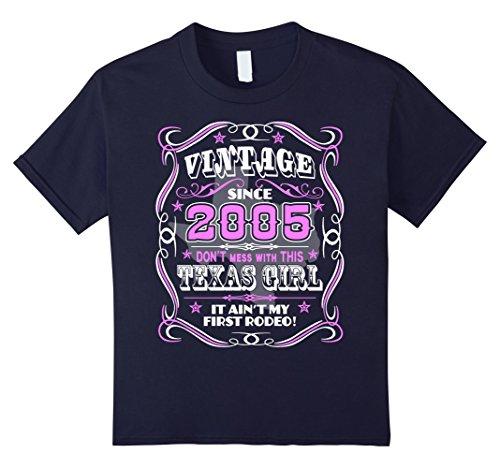 vintage-2005-texas-girl-12th-birthday-twelve-years-old-kinder-grosse-140-navy