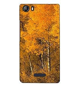 Fuson Designer Back Case Cover for Micromax Canvas 5 E481 (Trees Forest Garden Beauty)