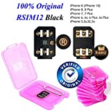 #10: 100% Original RSIM 12 Unlock iPhoneX-8-8p-7-7p-6s-6sp-5-5s with iOS 12.0.0, Very Easy & Fast Auto Plug and Play V9.7.5