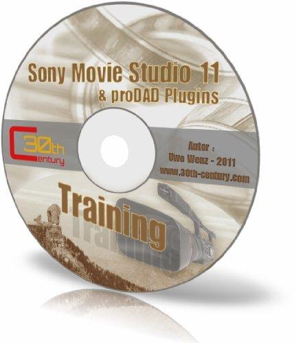 Training-CD Sony Movie Studio 11 und proDAD Plugins: 46 Praxis-Workshops im PDF- und CHM-Format (ca. 325 Seiten)