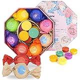 BMK bomba da bagno - Set regalo naturale Bio Aethe bagno sfere regalo per Natale (8pcs)
