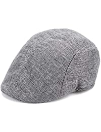 CDXDSV Sombrero Plano de Espiga para Hombre Sombrero de Pico Carrito de  Campo de Golf para 86ae9f83b20