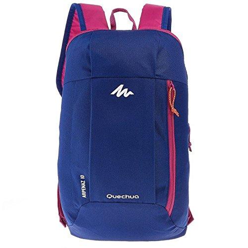 grande vendita 4c7c3 70f75 QUECHUA ARPENAZ, zaino per escursionismo da 10 litri, unisex, Blue / Purple