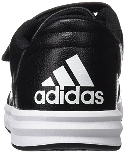 adidas Altasport Cf, Baskets Basses Mixte Enfant Noir (Core Black/Ftwr White/Core Black)