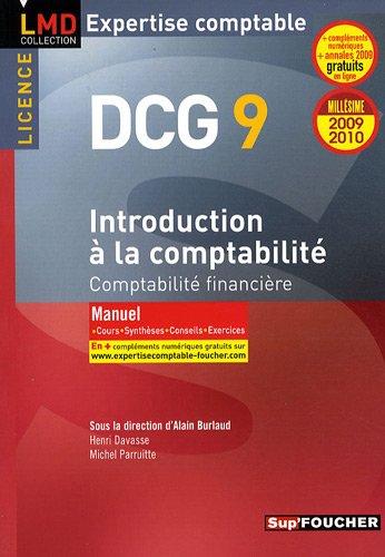 Introduction à la comptabilité : DCG 9 Comptabilité financière