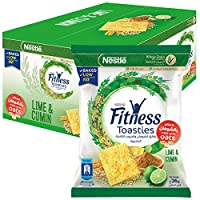 Nestle Fitness Toasties Lime & Cumin 36g Bag (12 Bags)