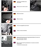 KUDA 094580 Auto Passive Halterung Schwarz Halterung - Halterungen (Handy/Smartphone, Auto, Passive Halterung, Schwarz, Leder, Opel Insignia, 11/2008)