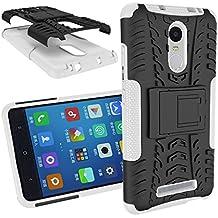 BCIT XiaoMi RedMi Note 3/Note 2 Pro Cover - Alta calidad Escabroso Durable Estuche protector TPU/PC funda carcasa case para XiaoMi RedMi Note 3/Note 2 Pro - Blanco