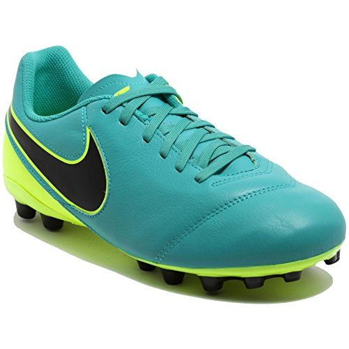 Nike Unisex – Bimbi 0-24 Jr Tiempo Legend Vi Ag scarpe da calcio Verde (Verde (Clear Jade / Black-Volt))